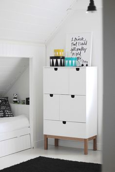 Kids room - Closet and boxes