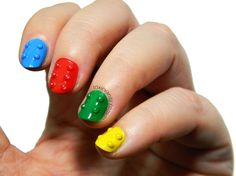The Digit-Al Dozen Does Textures | | decorated LEGO Toxic Nail Vanity