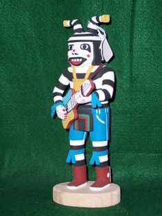 Hopi Kachina Doll - The Koshare Clown