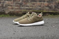 JUST Men's Lifestyle ™®: Footwear : Nike Roshe One Hyperfuse BR (olive).