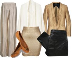 Metallics-Are-The-New-Black. Perfect Holiday Outfit.