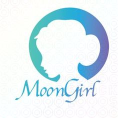 #Moon #Girl #logo