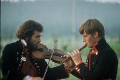 Spelmän från Delsbo, 1970-tal.