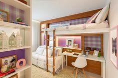 ¿Cómo Colocar dos Camas en un Dormitorio para Niñas? by artesydisenos.blogspot.com