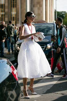 FWAH2016 Street looks at fashion week couture autumn-winter 2016-2017 in Paris