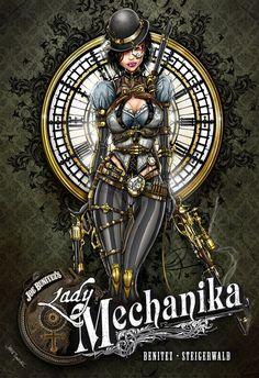 Lady Mechanika by *jamietyndall on deviantART