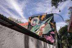 MEXICO CITY  Street art in Roma Norte