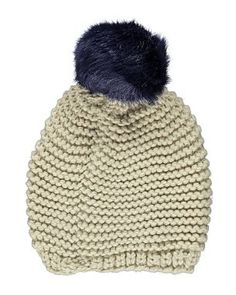 Faux Fur Pom Pom Beanie Hat | Women | George at ASDA