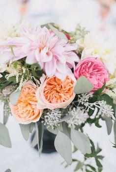 honey and poppies // amanda + tim's wedding // 100 layer cake