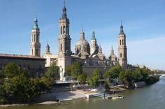 Zaragoza, Spain. Basílica de Nuestra Señora del Pilar