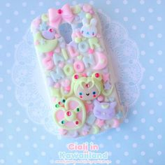 Follow @Rubyjaii for more, decoden, sweets, kawaii, decoration, fimo, polymer clay, crafts, cute, sailor moon