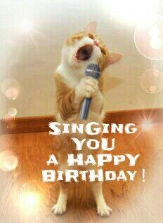 Singing You A Happy Birthday Fun Wishes Cards Wish