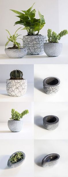 DIY Concrete Ideas – Concrete is by far the most pre-owned composed material, from routine construction projects to tiny ornamental products. Our subject for today is Do It Yourself Concrete . Read DIY Concrete Ideas For A Chic Minimal Design Cement Art, Cement Planters, Concrete Cement, Concrete Crafts, Concrete Projects, Concrete Garden, Concrete Design, Diy Planters, Beton Design