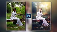 Photoshop cc Tutorial : Outdoor Portrait Retouching