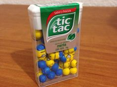 How to Make Your Own Tic Tac Minions