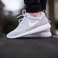 """Give me a reason of not loving it: Nike Womens Roshe Run Metallic Platinum Image: @sneakernews"""