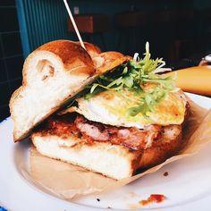 This was seriously the most delicious sandwich I have ever tasted - - - - - - - - - - - - - - - #prague #praha #holesovice #czech #czechrepublic #czechia #letna #foodporn #foodgasm #foodie #food #sandwich #bacon #brunch #breakfast #lunch #recipeideas #foodstagram #instafood #travel #travels #travelgram #traveling #sunday #sundaybrunch