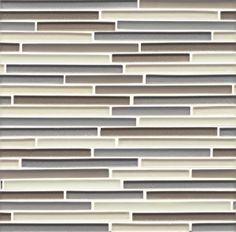 Mosaic glass stick tiles Alys Edwards