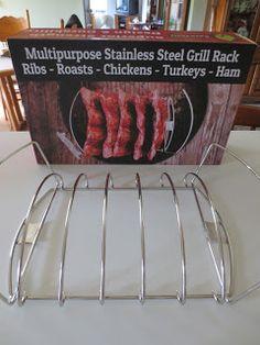 Cave Tools Rib Roast BBQ Rack It's getting cooler in Michiga. Turkey Ham, Grill Rack, Stainless Steel Grill, Rib Roast, Roast Chicken, Ribs, Cave, Grilling, Tools
