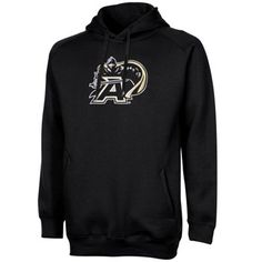 Army Black Knights Training Day Fleece Pullover Hoodie - Black