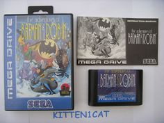 Adventures of Batman & Robin, The Sega CD Video Game Disc Only 10086044324 Mega Drive Games, Sega Mega Drive, Comic Games, Batman Robin, Games Consoles, Video Game Console, Video Games, Adventure, Comics