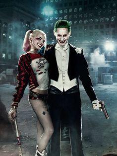 #SuicideSquad #TheJoker #HarleyQuinn #Art #DC #JaredLeto #MargotRobbie
