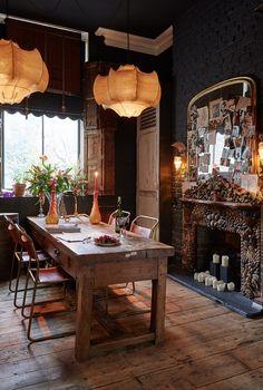 Home Dining Room Decor Hersham Sera of London House Design Furniture Interior design Images Of Fireplaces, Küchen Design, House Design, Design Ideas, Design Styles, Modern Design, Sweet Home, Deco Boheme, Interior Decorating