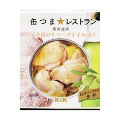 K&K 缶つま★レストラン マテ茶鶏のオリーブオイル漬け