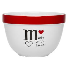 Buy John Lewis Made With Love Pudding Basin Online at johnlewis.com