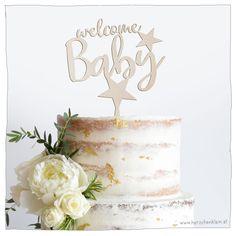 Das Highlight auf Torten! Perfekt zur Geburt, Baby Party oder Taufe. Welcome Baby, Baby Party, Super, Cake Toppers, Desserts, Products, Personalized Baby, Great Gifts, Work Shop Garage