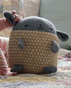Lovey Lamb Crocheted Softie Pattern