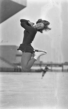 Sjoukje Rosalinde Dijkstra (1942), a Dutch figure skater. In 1964 Olympic champion, the 1960 Olympic silver medalist, a three-time World champion, five-time European champion, and the six-time Dutch national champion. In 2005, she was awarded the Fanny Blankers-Koen Trophy. While her main strength was compulsory figures, she was a very powerful and athletic free skater who could perform high-quality double axels and flying spins, and skated with easy movement and strong flow Ice Skating, Figure Skating, 1964 Olympics, Ap Art Concentration, Olympic Champion, Formal Shoes For Men, Innsbruck, Sports Games, Sweet Memories