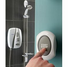 shower on/off button