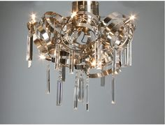 LI - Lámpara de techo en acero