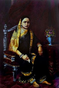 Maharani Chimnabai (Reprint on Paper - Unframed)