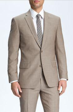 groomsmen's suit (w/ powder blue tie)