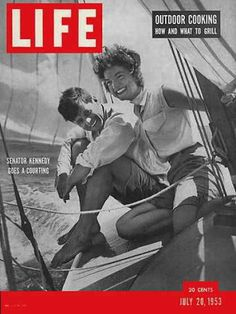 Perfection.  John & Jackie Kennedy, LIFE Magazine, July 1953