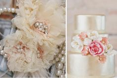How beautiful is champagne for a wedding colour!