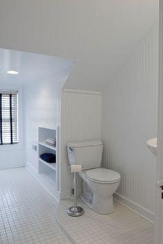 Built-in Dormer Storage Shelves Design Ideas, Pictures, Remodel, and Decor