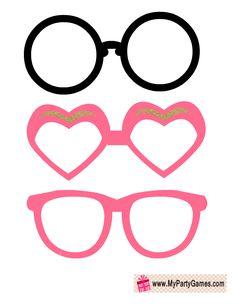 Cute Sun Glasses Photo Booth Props