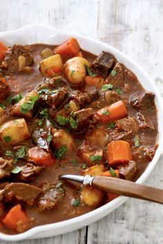 Slow Cooker Recipes, Beef Recipes, Soup Recipes, Dinner Recipes, Cooking Recipes, Healthy Recipes, Recipies, Tapas, One Pot Meals