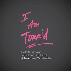 #IAmTorrid (Repin this to your #IAmTorrid board along with your perfect Torrid outfit including Torrid denim)