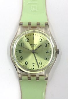 Vintage Swatch Watch Always Late LK158.  New by EmzTreasurz