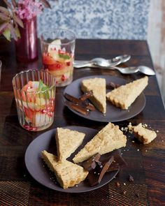 Use whole-wheat pastry flour for a light, crumbly texture:   Whole-Wheat Shortbread Cookies, Wholeliving.com #healthy #desserts #cookies