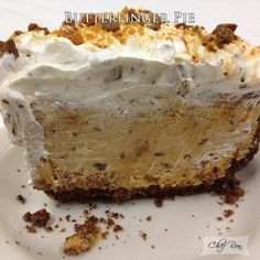 Butterfinger Pie – Food Recipes