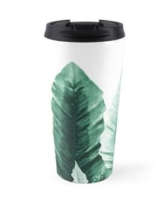 """Underwater Leaves Vibes #2 #decor #art"" Travel Mugs by anitabellajantz 