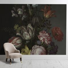'Flowers in a Vase with Shells and Insects''-277 eus - surfaceview.co.uk