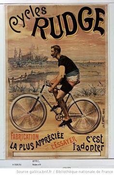 Cycles Rudge : [affiche] / [non identifié] - 1890 www.velovek.com #velovek
