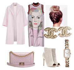 """Chanel street style"" by joanna-brzegowy on Polyvore featuring moda, Gianvito Rossi, Prada, Paul Smith i Chanel"
