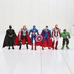 In Practical The Avengers Iron Man Spider-man Captain America Toys Image Movable Figure Model Fragrant Flavor